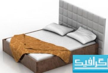 مدل سه بعدی تختخواب – شماره 2