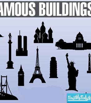 وکتور بناهای تاریخی جهان