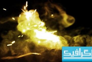 دانلود براش های فتوشاپ آتش و جرقه