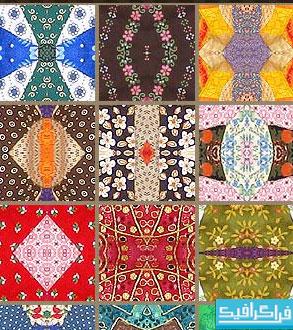 پترن های فتوشاپ طرح فرش - شماره 2