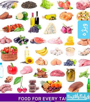 دانلود تصاویر استوک میوه و مواد غذایی