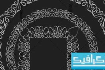 دانلود براش فتوشاپ طرح های تزئینی – 5