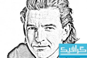 آموزش فتوشاپ تبدیل عکس به نقاشی رسم شده با مداد