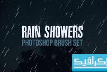 دانلود براش های فتوشاپ باران