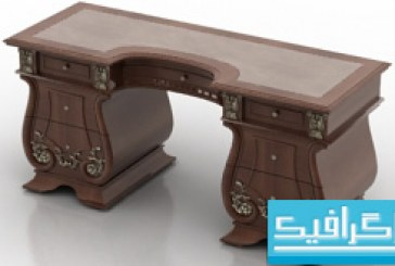 مدل سه بعدی میز – شماره 2