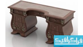 مدل سه بعدی میز - شماره 2