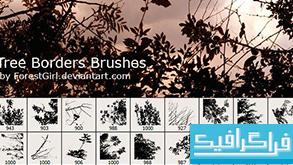 دانلود براش های فتوشاپ حاشیه - طرح درخت