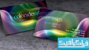 کارت ویزیت color design