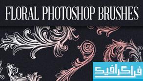 دانلود براش فتوشاپ گل های تزئینی - شماره 3