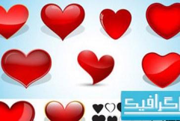 وکتور های قلب