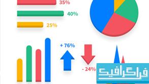 فایل لایه باز عناصر آمار و اطلاعات
