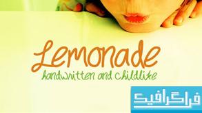 دانلود فونت انگلیسی Lemonade