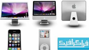 دانلود آیکون محصولات اپل