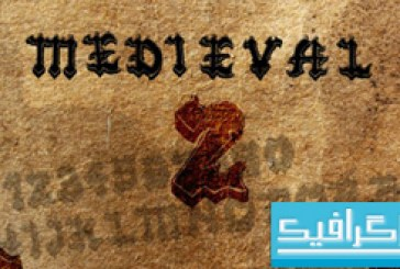 دانلود فونت انگلیسی Medieval 2
