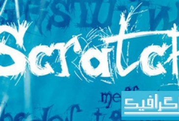 دانلود فونت انگلیسی Scratch