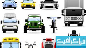دانلود آیکون های وسایل حمل و نقل