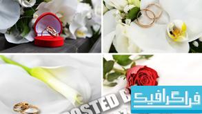دانلود تصاویر استوک حلقه ازدواج