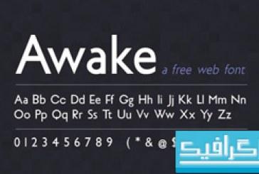 دانلود فونت انگلیسی Awake