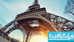 دانلود والپیپر برج ایفل Eiffel Tower Paris