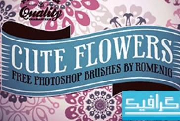 دانلود براش فتوشاپ گل های تزئینی – شماره 4