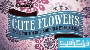 دانلود براش فتوشاپ گل های تزئینی - شماره 4