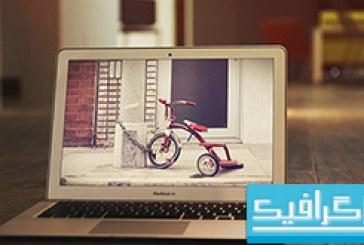فایل لایه باز ماک آپ لپ تاپ Macbook Air