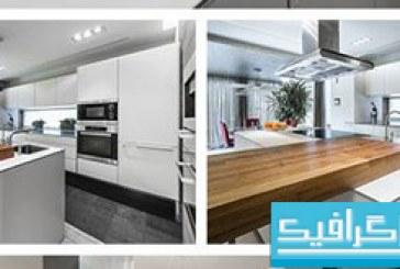 دانلود تصاویر استوک آشپز خانه های مدرن