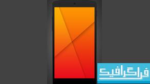 فایل لایه باز ماک آپ گوشی Nexus 5