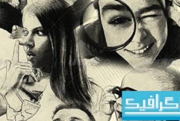 اکشن فتوشاپ تبدیل عکس به نقاشی ترسیمی با مداد – شماره 3