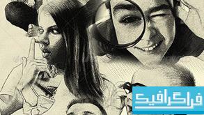 اکشن فتوشاپ تبدیل عکس به نقاشی ترسیمی با مداد - شماره 3