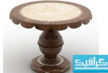 مدل سه بعدی میز – شماره 3
