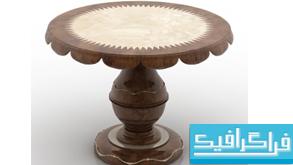 مدل سه بعدی میز - شماره 3