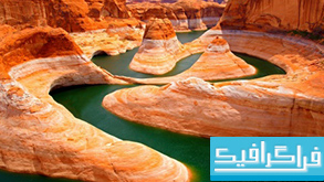 دانلود والپیپر رودخانه Beautiful Canyon River