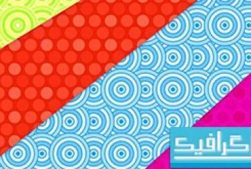 پترن فتوشاپ دایره های رنگی
