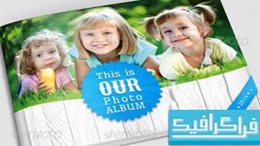 فایل لایه باز آلبوم عکس خانوادگی