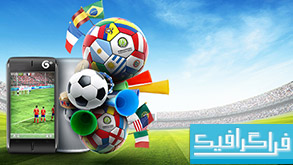 فایل لایه باز جام جهانی فوتبال 2014 برزیل