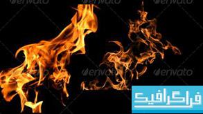 فایل لایه باز شعله آتش
