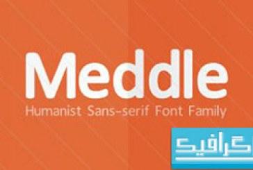دانلود فونت انگلیسی Meddle