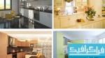 دانلود تصاویر استوک آشپزخانه های مدرن - 2