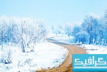 دانلود والپیپر برف Snow Path