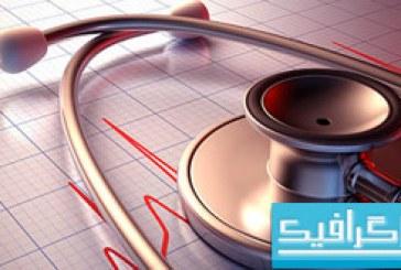 دانلود تصاویر استوک گوشی دکتر به شکل قلب