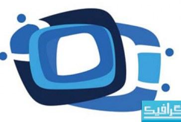 دانلود لوگو های تجاری آبی رنگ