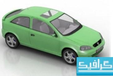 مدل سه بعدی اتومبیل – شماره 2