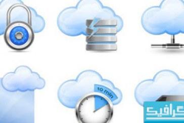دانلود آیکون های ابری – شماره 3