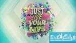 دانلود والپیپر زندگی Just Live Your Life