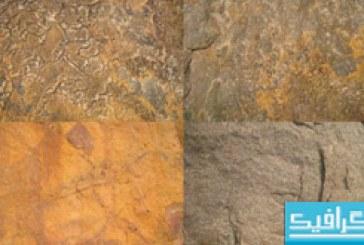 تکسچر های سطح سنگی قدیمی