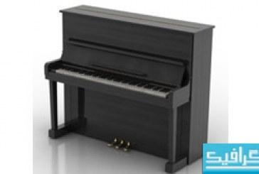 مدل سه بعدی پیانو – شماره 2