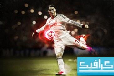 دانلود والپیپر رونالدو Ronaldo Kick