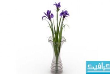 مدل سه بعدی گلدان – Vase 3D Model – شماره 2