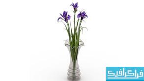 مدل سه بعدی گلدان - Vase 3D Model - شماره 2